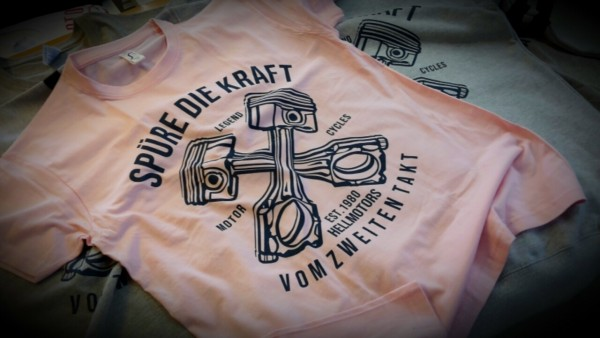T-Shirt Unisex - Zweitakter Rosa