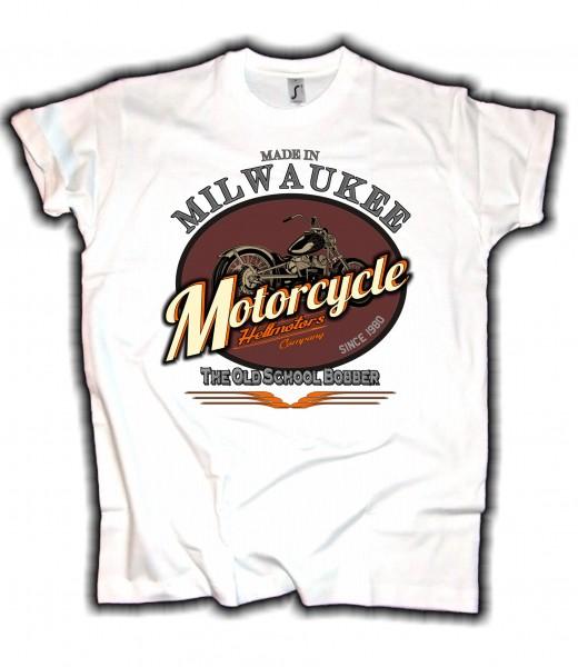 Herren T-Shirt Milwaukee Biker