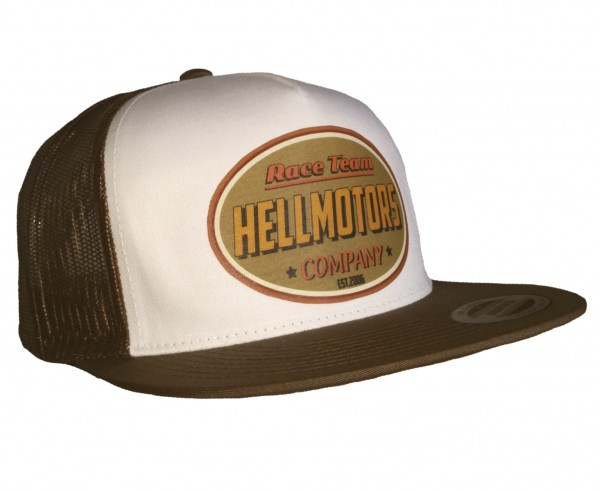 "HELLMOTORS SNAPBACK CAP ""Race Team retro"" Braun"