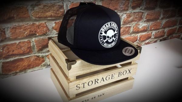 "HELLMOTORS SNAPBACK CAP ""Road Skull"" Schwarz"