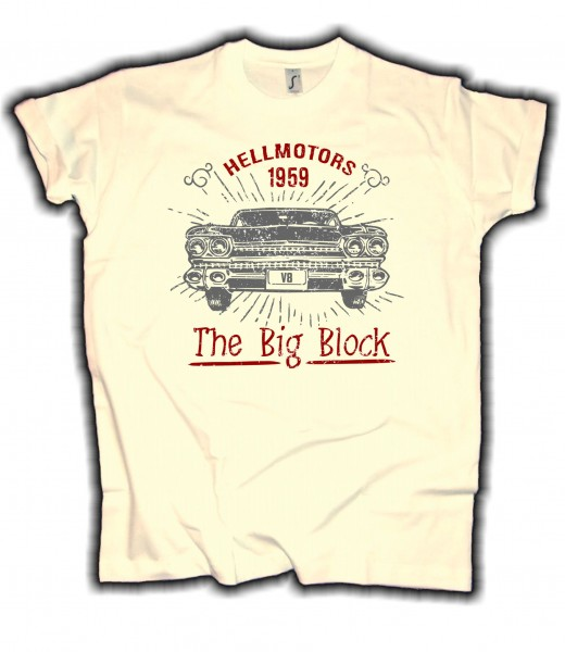 "Herren T-Shirt Cadillac ""The Big Block"""