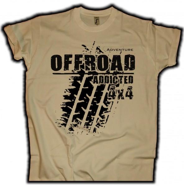 """Herren T-Shirt """"Offroad Addicted"""""""