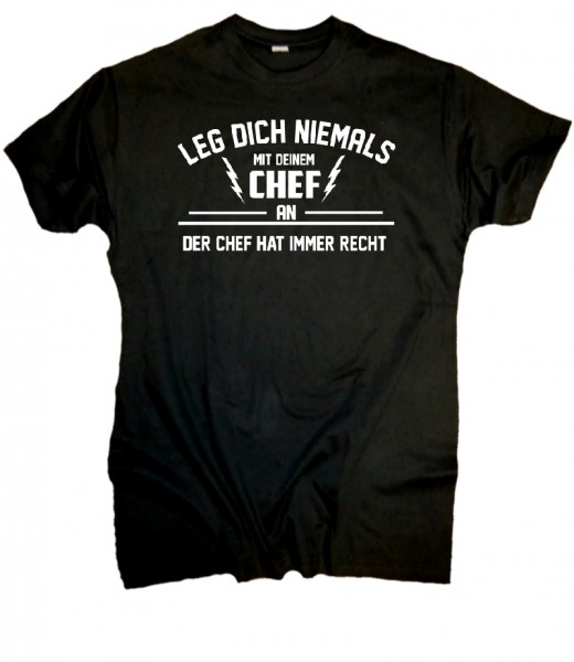 "Herren Fun T-Shirt ""Chef"""