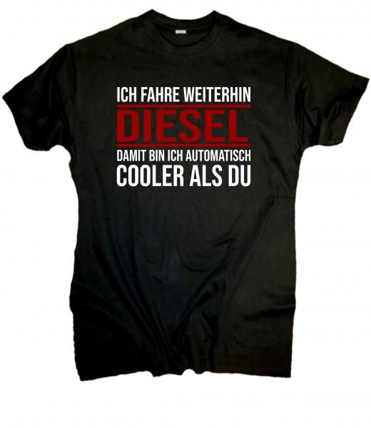 Herren Fun T-Shirt - Diesel Fahrer