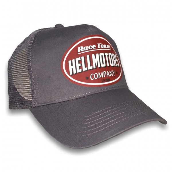 "HELLMOTORS CAP ""Race Team"" Grau"