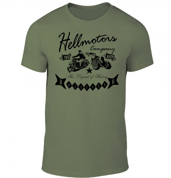 Herren T-Shirt History Hollister