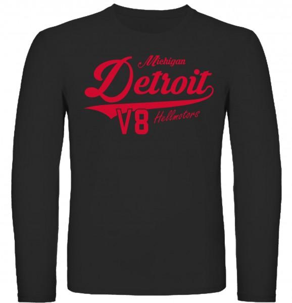 Herren Longsleeve Detroit Michigan