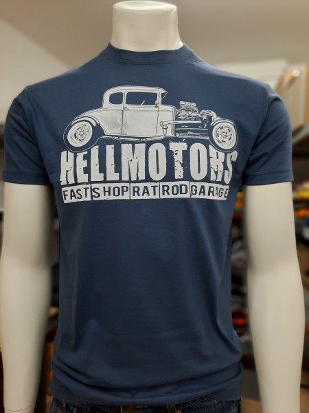 Herren Hot Rod T-Shirt Fast Shop Denim