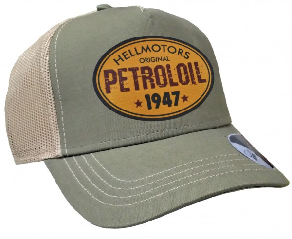 Trucker Cap - Petroloil - Canvas Oliv/Sand