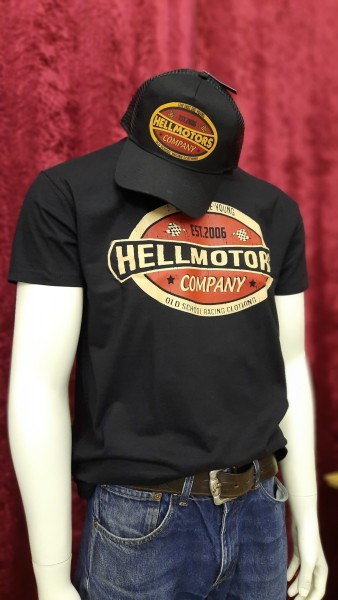 Old School T-Shirt Life Fast Vintage inkl. Trucker Cap