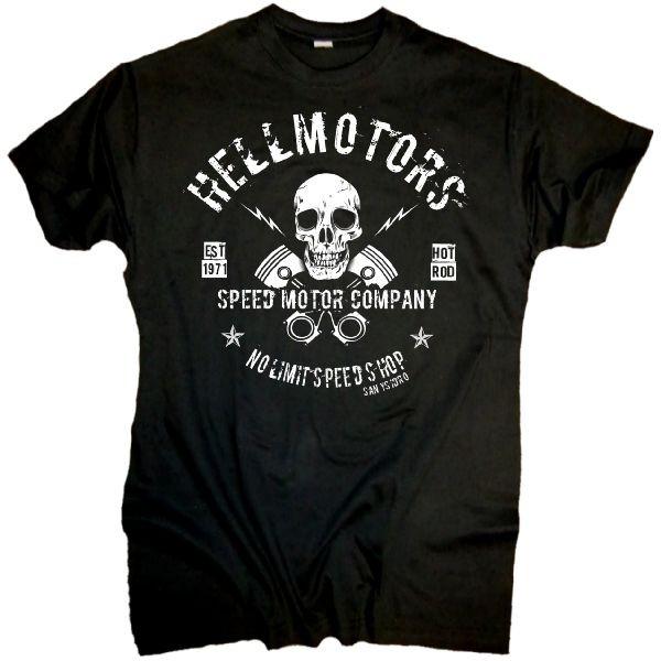 "Herren T-Shirt ""Speed Company"" schwarz"