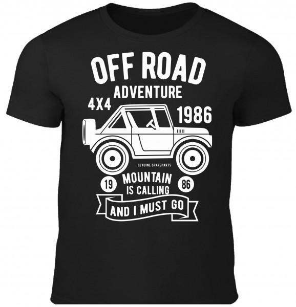 Herren T-Shirt Offroad Adventure