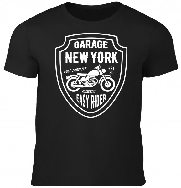 Herren T-Shirt Garage New York