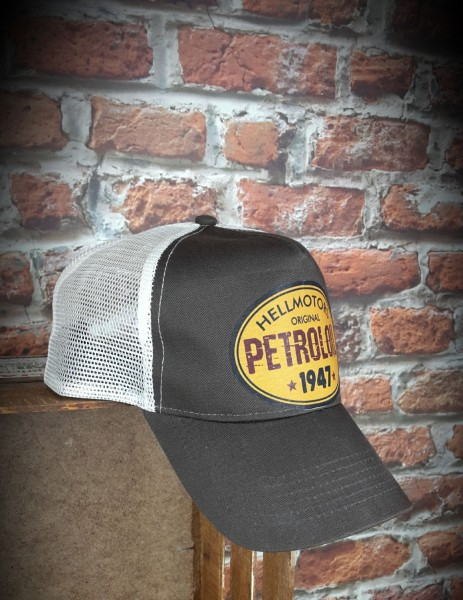 "HELLMOTORS CAP ""Petroloil"" Chocolate"