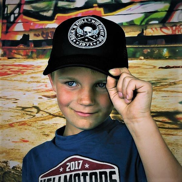 "HELLMOTORS KINDER CAP ""Rock n Roll""-schwarz"