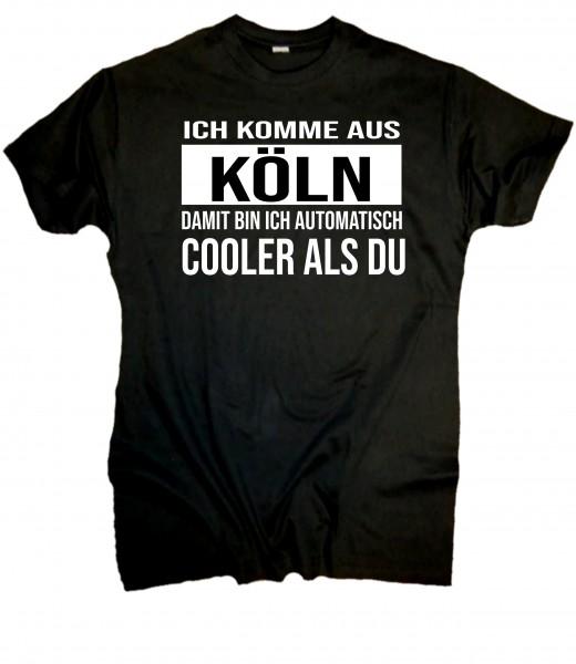 Herren Fun T-Shirt - cooler Kölner