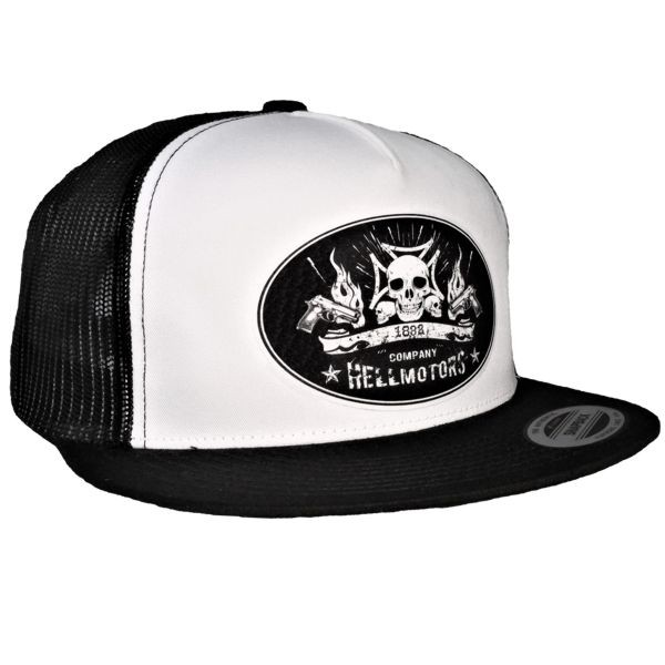"HELLMOTORS SNAPBACK CAP ""Weapon Skull"""