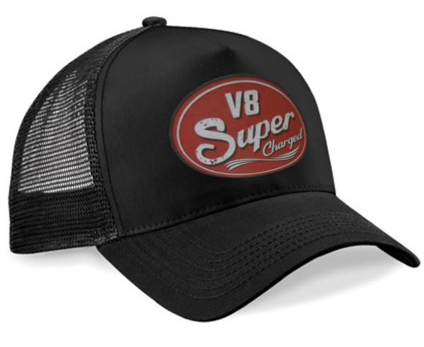 "HELLMOTORS Trucker CAP ""Super Charged"" schwarz"