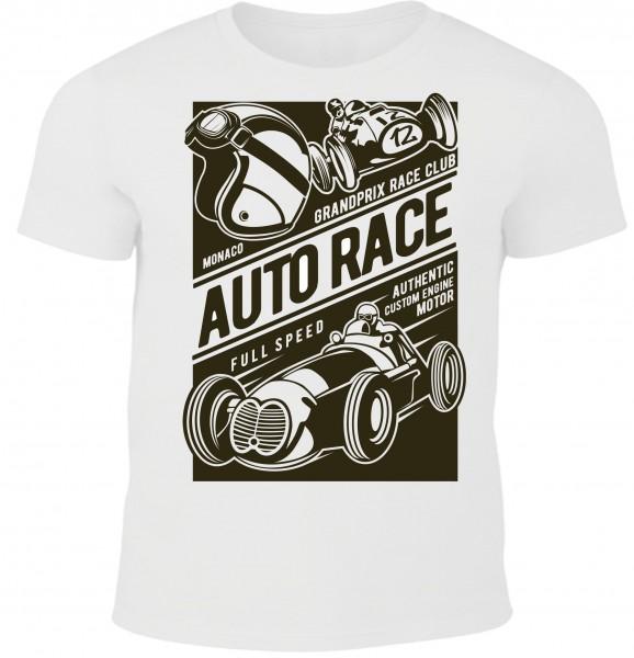 Herren T-Shirt Auto Race
