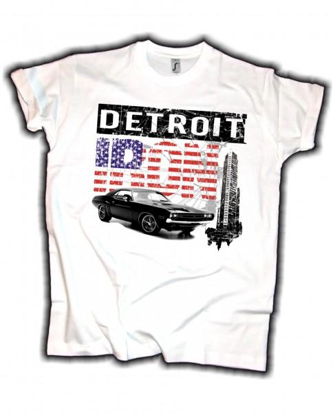 Herren T-Shirt Detroit Iron