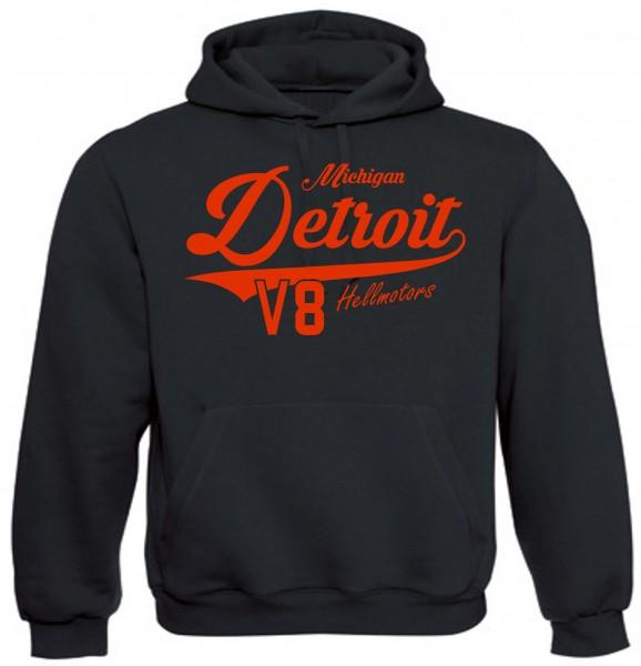 Herren Hoodie Detroit Michigan