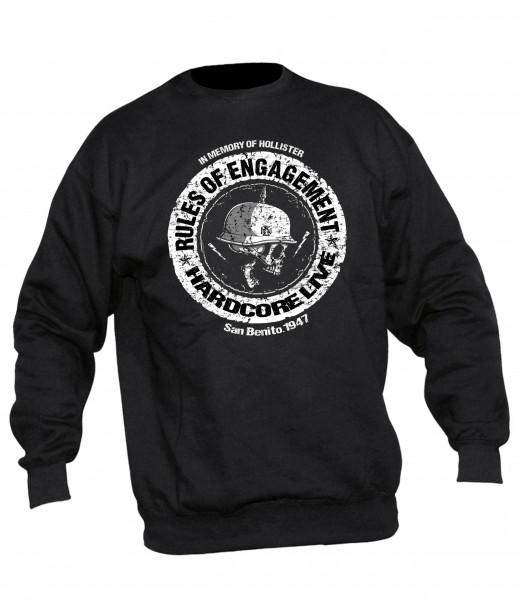 Herren Sweatshirt Rules of Engagement vorne