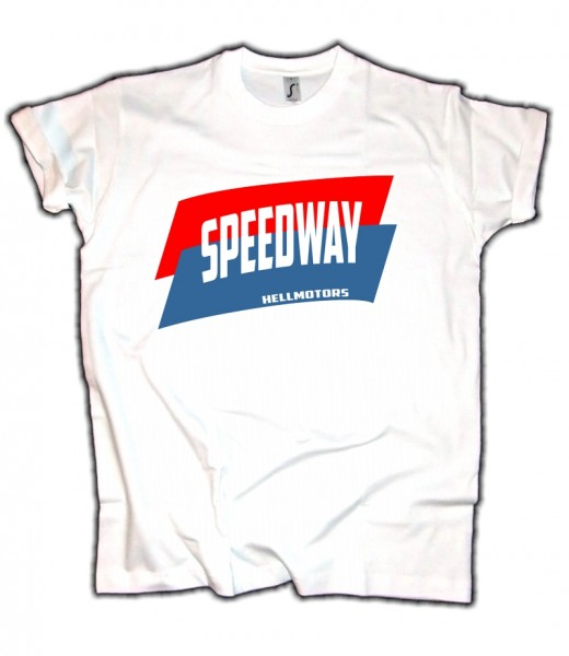 "Herren Old School T-Shirt ""NASCAR Speedway"""