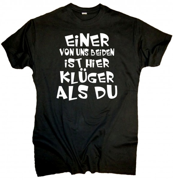 Herren Fun T-Shirt - klüger als du