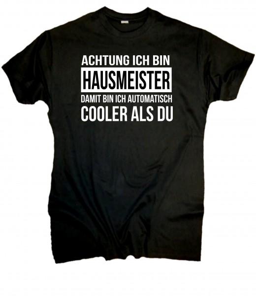 Herren Fun T-Shirt cooler Hausmeister