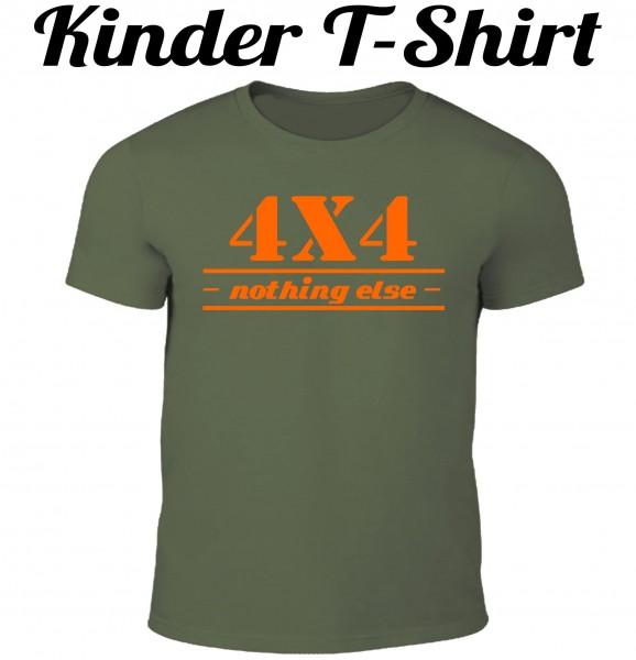 Kinder T-Shirt 4x4 nothing else