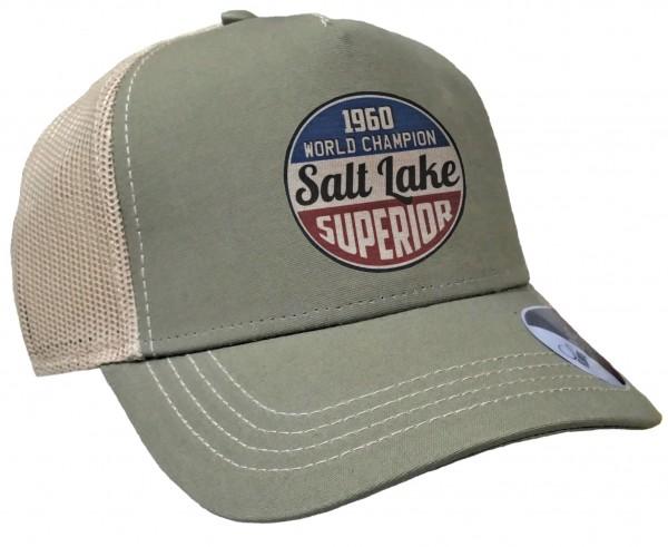 Trucker Cap - Salt Lake Race - Canvas Oliv/Sand