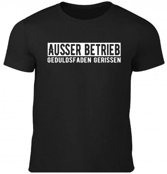 Herren Fun T-Shirt - Außer Betrieb