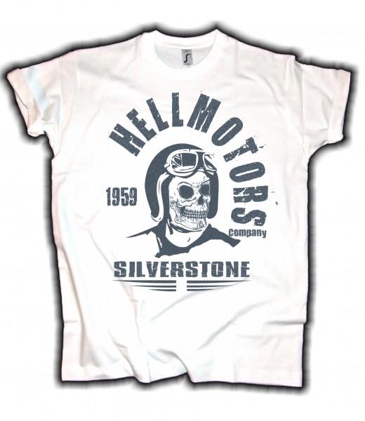 Herren Biker T-Shirt Silverstone