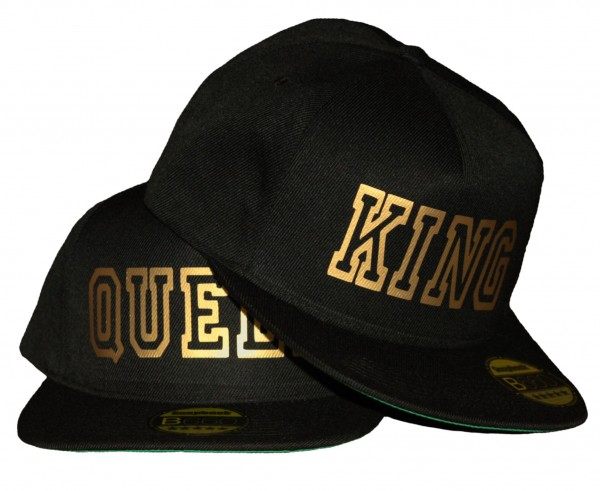 "SNAPBACK CAP ""King & Queen"" Gold Edition"