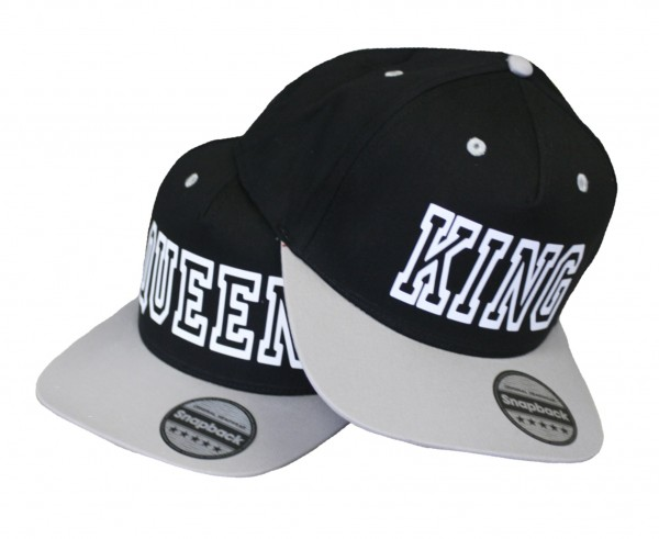 "SNAPBACK CAP ""King & Queen"""