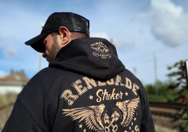 Herren Biker Kapuzenjacke Renegade