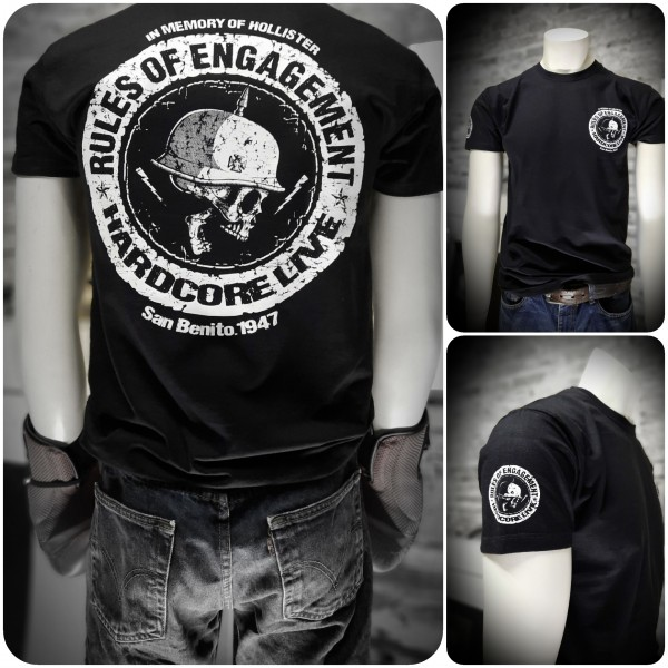 Herren Biker T-Shirt Rules of Engagement