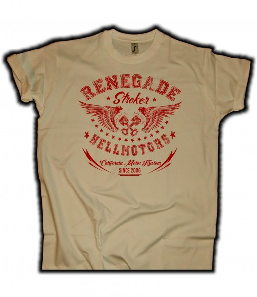 Herren T-Shirt Renegade in Sand