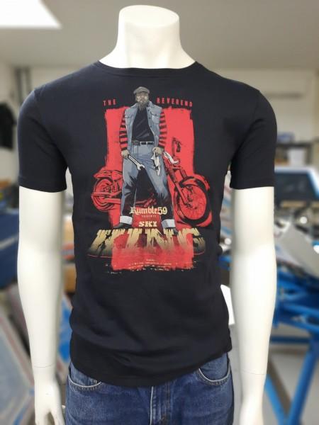 Andrew James Ski King T-Shirt The Reverend