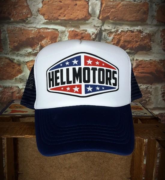 """HELLMOTORS TRUCKER CAP """"TEXAS"""" Navyblau"""