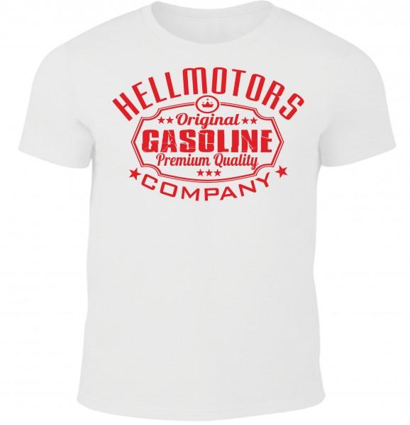 Herren T-Shirt Gasoline White Edition