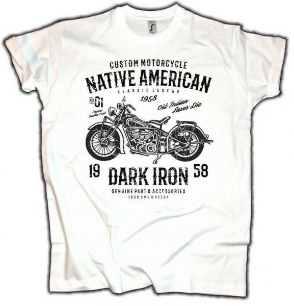 Herren T-Shirt Dark Iron