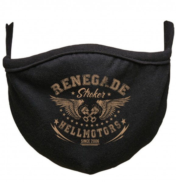 Renegade Behelfs- Mund-Nasen-Maske