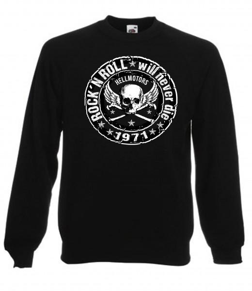 Herren Sweatshirt Rock n Roll