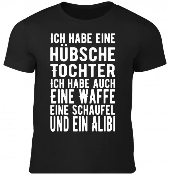 Herren Fun T-Shirt - Hübsche Tochter