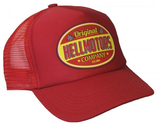 "HELLMOTORS TRUCKER CAP ""Hellmotors"" Rot"