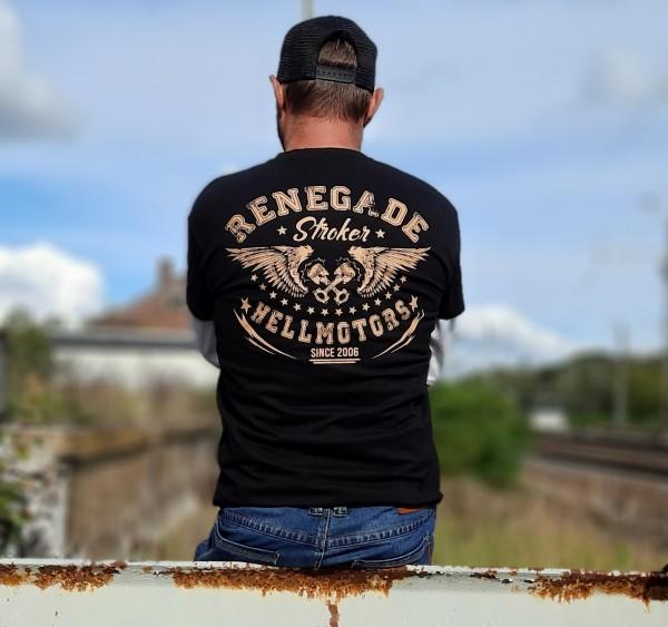 Herren Old School Biker T-Shirt Renegade
