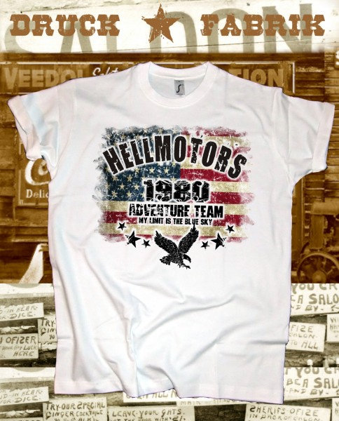 Herren T-Shirt USA Adventure Team