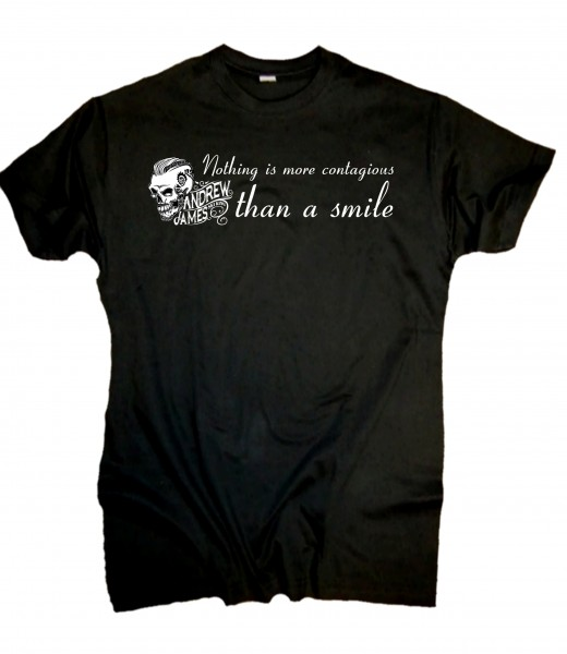 Andrew James Ski King T-Shirt Smile